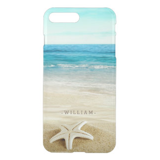 Capa iPhone 8 Plus/7 Plus Estrela do mar do Sandy Beach