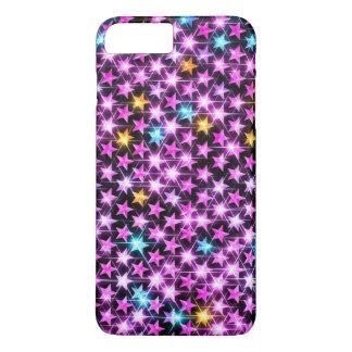 Capa iPhone 8 Plus/7 Plus estrelas brilhantes bonitas