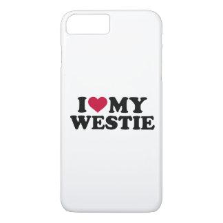 Capa iPhone 8 Plus/7 Plus Eu amo meu Westie