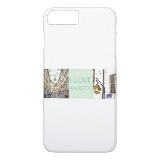 """Capa iPhone 8 Plus/7 Plus """"Eu amo o iPhone 7 da case mate de Annecy""""+/8+"""