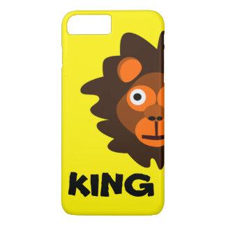 Capa iPhone 8 Plus/7 Plus Eu sou o rei