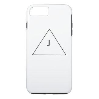 Capa iPhone 8 Plus/7 Plus Eu telefono ao branco de //de 6 casos