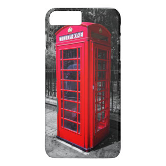 Capa iPhone 8 Plus/7 Plus Exemplo da cabine de telefone de Londres (iPhone