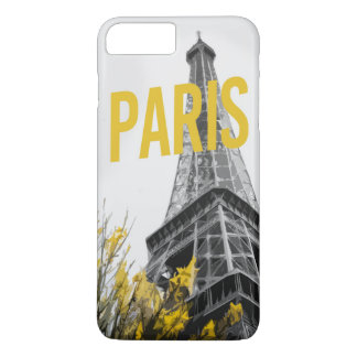 Capa iPhone 8 Plus/7 Plus exemplo de Paris Eiffel do iPhone (4,5,6,7,8)