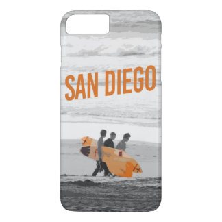 Capa iPhone 8 Plus/7 Plus exemplo de San Diego do iPhone (4,5,6,7,8)