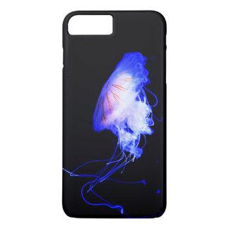 Capa iPhone 8 Plus/7 Plus Explorador azul legal do nadador do mergulhador de