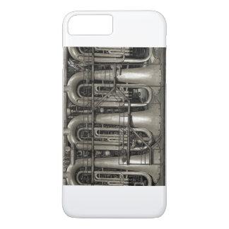Capa iPhone 8 Plus/7 Plus Fábrica da música de Steampunk