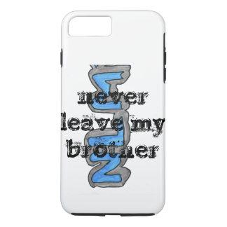 Capa iPhone 8 Plus/7 Plus fala sobre não deixar irmãos