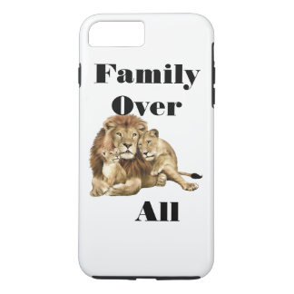 Capa iPhone 8 Plus/7 Plus Família sobre tudo, caso do iPhone/iPad