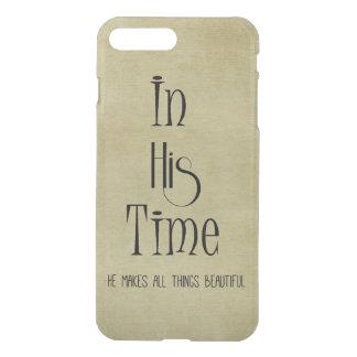 Capa iPhone 8 Plus/7 Plus Faz todas as coisas bonitas em seu verso do tempo