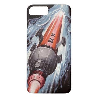 Capa iPhone 8 Plus/7 Plus Ficção científica Rocket a Marte