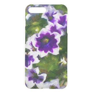Capa iPhone 8 Plus/7 Plus fleurs dos les