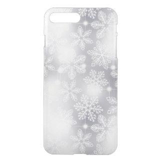 Capa iPhone 8 Plus/7 Plus Flocos de neve e luzes