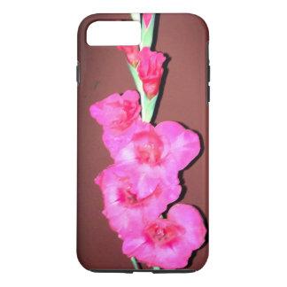 Capa iPhone 8 Plus/7 Plus Flor vermelha