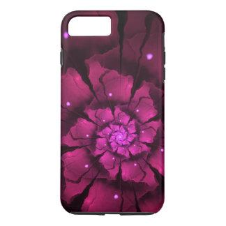 Capa iPhone 8 Plus/7 Plus Flor violeta