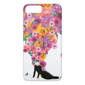 Capa iPhone 8 Plus/7 Plus Flores
