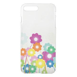 Capa iPhone 8 Plus/7 Plus Flores brilhantes