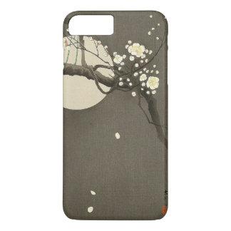 Capa iPhone 8 Plus/7 Plus Flores da ameixa na noite pelo vintage de Ohara