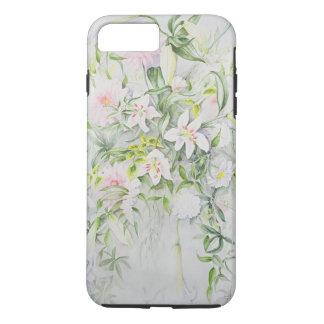 Capa iPhone 8 Plus/7 Plus Flores para casamentos para Louisa e Robert