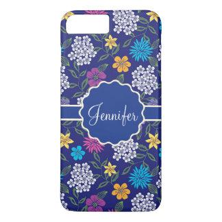 Capa iPhone 8 Plus/7 Plus Flores selvagens femininos do primavera e do