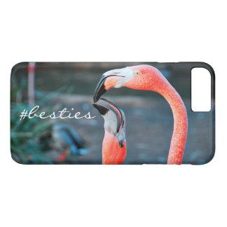 "Capa iPhone 8 Plus/7 Plus ""# foto cor-de-rosa alaranjada bonito dos"