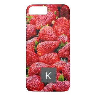 Capa iPhone 8 Plus/7 Plus fotografia cor-de-rosa escura deliciosa das