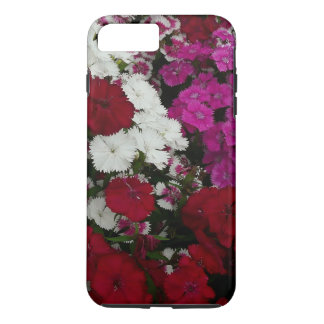 Capa iPhone 8 Plus/7 Plus Fotografia floral do cravo-da-índia branco,