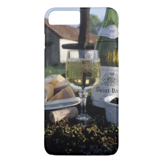 Capa iPhone 8 Plus/7 Plus France, Borgonha, Chablis. Vinho local e