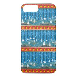 Capa iPhone 8 Plus/7 Plus Fundo mágico do Natal