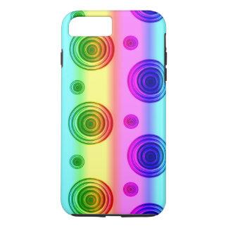 Capa iPhone 8 Plus/7 Plus fusão cor-de-rosa