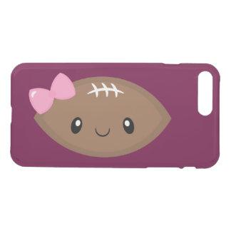 Capa iPhone 8 Plus/7 Plus Futebol feminino bonito Emoji