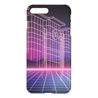 Capa iPhone 8 Plus/7 Plus Futuro do laser de Zazzle