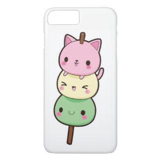 Capa iPhone 8 Plus/7 Plus Gatinhos de Kawaii Mochi