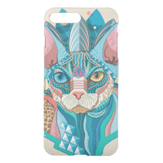 Capa iPhone 8 Plus/7 Plus Gato cósmico de Sphynx