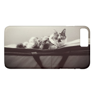 Capa iPhone 8 Plus/7 Plus Gato no saco