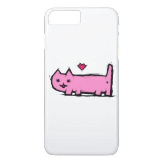 Capa iPhone 8 Plus/7 Plus Gato riscado