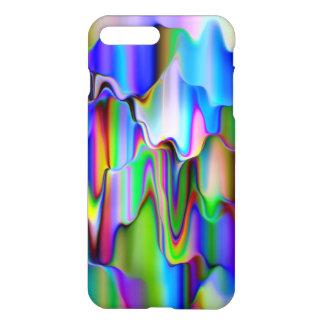 Capa iPhone 8 Plus/7 Plus Gelado de derretimento do arco-íris