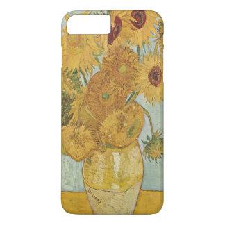 Capa iPhone 8 Plus/7 Plus Girassóis de Van Gogh
