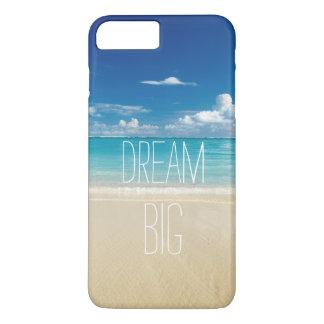 Capa iPhone 8 Plus/7 Plus Grande ideal - citações inspiradas e inspiradores