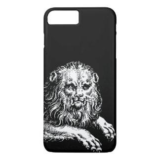 Capa iPhone 8 Plus/7 Plus Gravura antiga do leão
