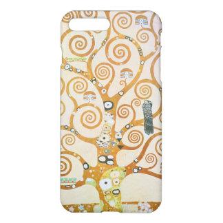 Capa iPhone 8 Plus/7 Plus Gustavo Klimt a árvore da arte Nouveau da vida