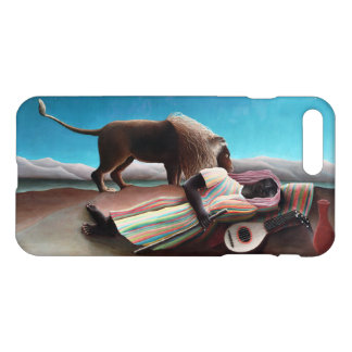 Capa iPhone 8 Plus/7 Plus Henri Rousseau o vintage aciganado do sono