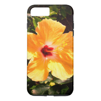 Capa iPhone 8 Plus/7 Plus Hibiscus amarelo