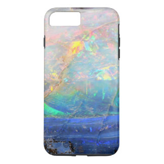 Capa iPhone 8 Plus/7 Plus Hipster bling mineral do bokeh de pedra preciosa