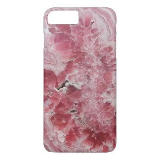 Capa iPhone 8 Plus/7 Plus Hipster de cristal da foto da pedra de gema do