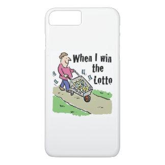 Capa iPhone 8 Plus/7 Plus Homem de vencimento do design da lotaria com o