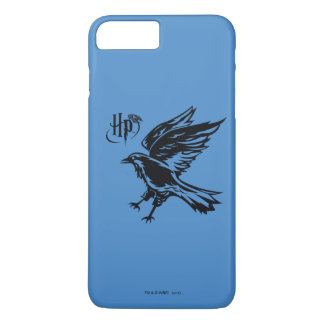 Capa iPhone 8 Plus/7 Plus Ícone de Harry Potter   Ravenclaw Eagle