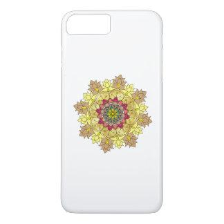 Capa iPhone 8 Plus/7 Plus Ilustração ornamentado da mandala do vetor para