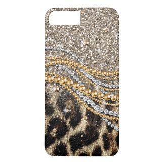 Capa iPhone 8 Plus/7 Plus Impressão animal do falso na moda bonito do