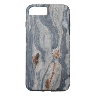 Capa iPhone 8 Plus/7 Plus Impressão da textura da rocha da pedra calcária de